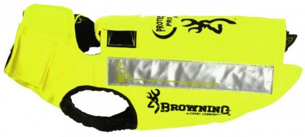 Browning Hundeweste Protect Pro orange - gelb
