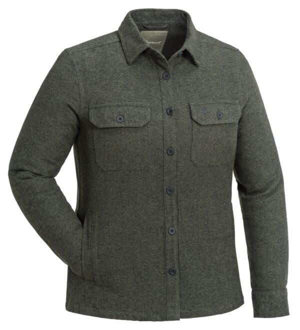 3005-142-01_pinewood-varnamo-overshirt-womens_dark-green-melange