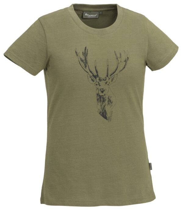 3038-713-01_pinewood-womens-t-shirt-red-deer_hunting-olive