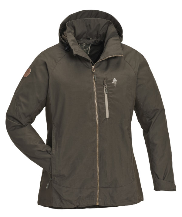 3089-128-1-Jacket Caribou TC Ladies - DOlive (719)