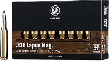 338 Lapua Mag Speed