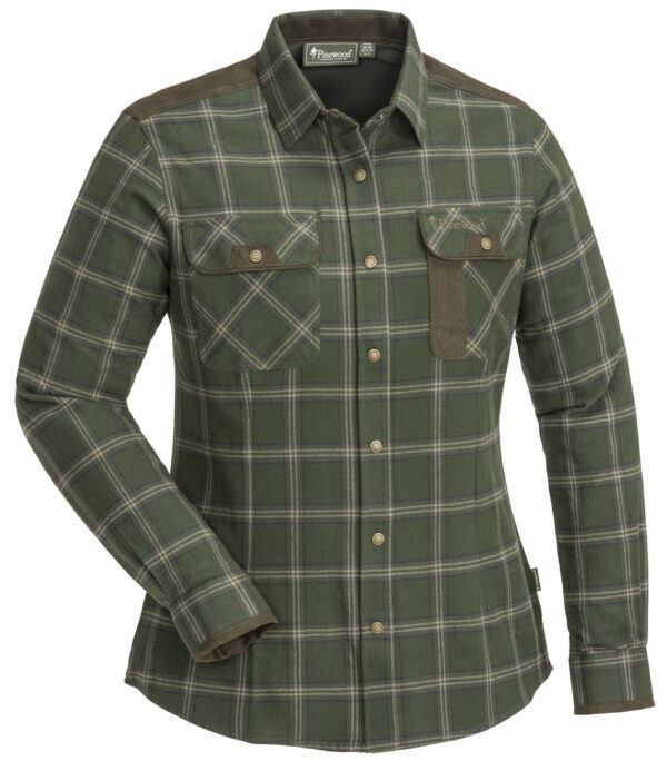 3428-184-01_pinewood-womens-shirt-prestwick-exclusive_mossgreen-dark-brown
