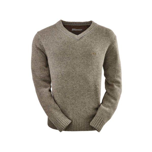 Blaser Strick Pullover beige