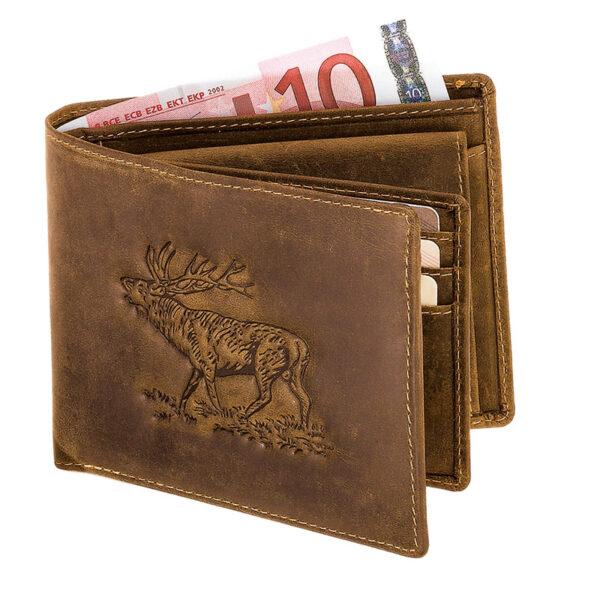 Geldbörse Hirsch