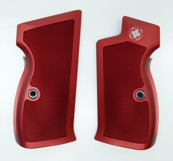 Griffschalen P210 rot