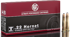 RWS Munition Kal. 22 Hornet TM