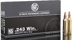 RWS Munition Kal. 243 Win KS