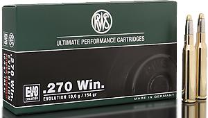RWS Munition Kal. 270 Win EVO