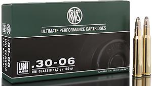 RWS Munition Kal. 30-06 UNIC Classic