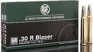 RWS Munition Kal. 30 R Blaser EVO