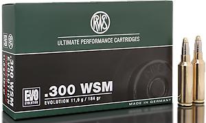 RWS Munition Kal. 300 WSM EVO