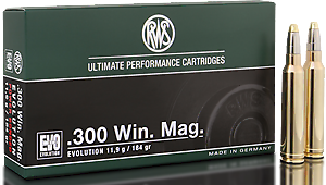 RWS Munition Kal. 300 Win Mag EVO