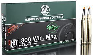 RWS Munition Kal. 300 Win Mag HIT