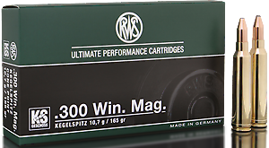 RWS Munition Kal. 300 Win Mag KS