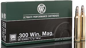 RWS Munition Kal. 300 Win Mag UNI Classic