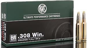 RWS Munition Kal. 308 Win EVO