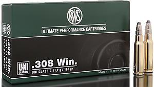 RWS Munition Kal. 308 Win UNIC Classic