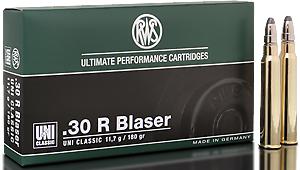 RWS Munition Kal. 30R Blaser UNI Classic