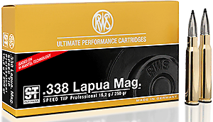 RWS Munition Kal. 338 Lapua Mag Speed Tip Pro