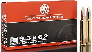 RWS Munition Kal. 9,3 x 62 EVO