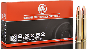 RWS Munition Kal. 9,3 x 62 KS