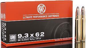 RWS Munition Kal. 9,3x62 UNI Classic