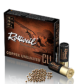 Rottweil Copper 12-70 Verpackung