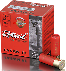 Rottweil Fasan 16-67.5 Verpackung