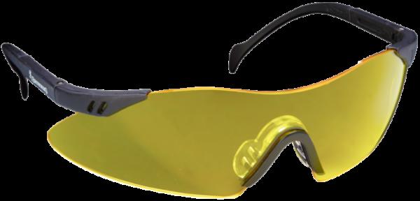 Schiessbrille gelb