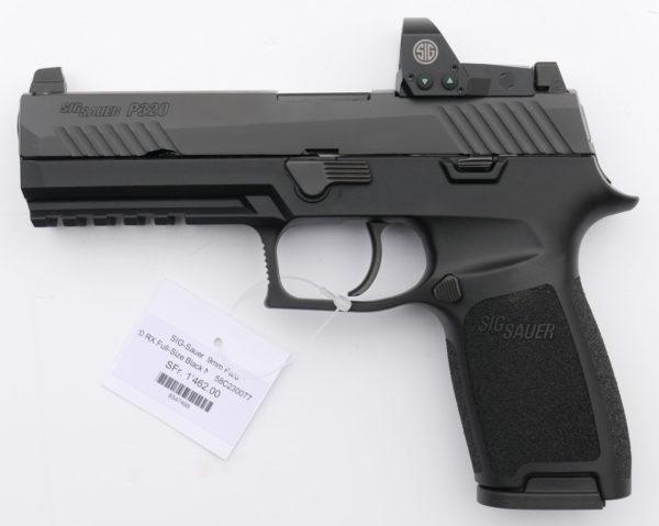 Sig Sauer P320 RX FullSize